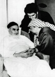 """عرفات والخميني : دولة علمانية أم """"ثورة اسلامية""""؟"""