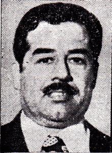 صدام حسين - دعم الشاه حتى خلعه