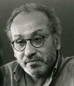 """الفاضل الجعايبي ٬ مخرج ومؤلف مسرحي تونسي ٬ عضو فرقة """"المسرح الجديد"""""""