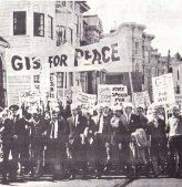 הפגנת חיילים בסן-פרנסיסקו נגד המלחמה בווייטנאם