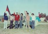 ביקור סולידריות עם האבוריג'ינים במאהל המחאה.